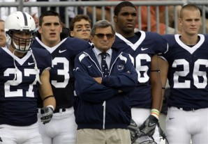 Joe Paterno, Jacob Fragnano, Chris Colasanti, Mark Wedderburn, J.D. Mason